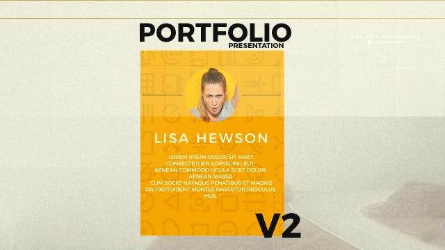 Portfolio Presentation V2: After Effects Templates
