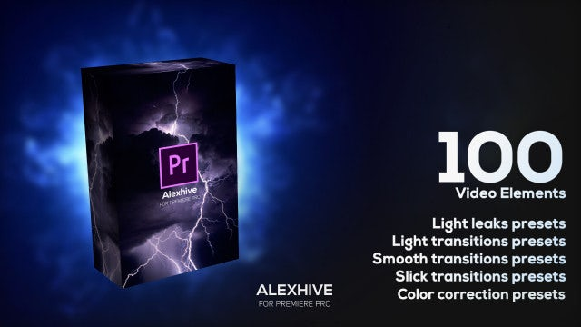 1oo Video Elements Presets Pack: Premiere Pro Presets