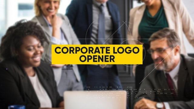 Corporate Logo Opener: Premiere Pro Templates
