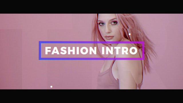 Fashion Intro: Premiere Pro Templates