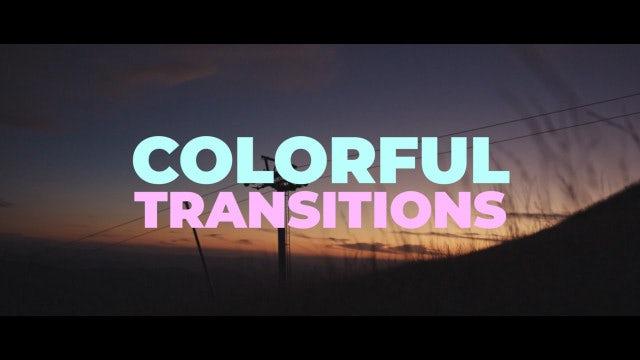 Colorful Transitions: Premiere Pro Presets