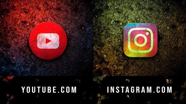 Dark Grunge Logo: After Effects Templates