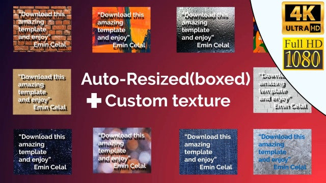 Auto-Resizing Title: After Effects Templates