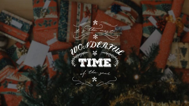 Christmas New Year Titles: After Effects Templates