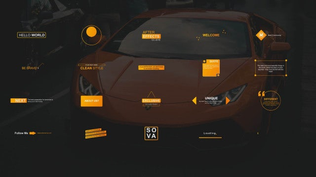 20 Titles & Lower Thirds: After Effects Templates