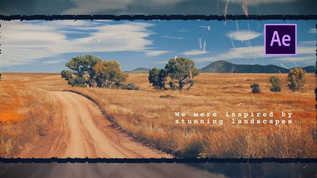 Travel Memories Slideshow: After Effects Templates