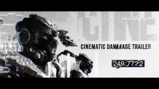 Cinematic Damage Trailer: Premiere Pro Templates