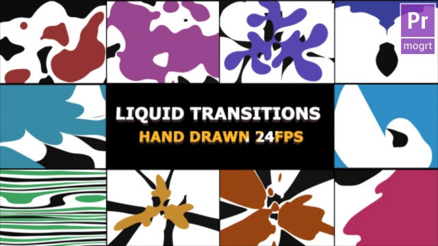Dynamic Splash Transitions: Motion Graphics Templates