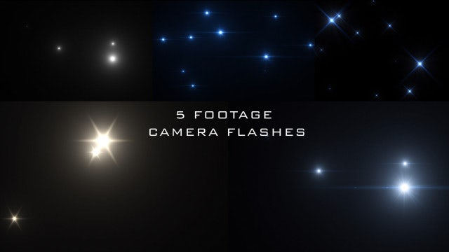Camera Flash Popping Pack: Stock Motion Graphics