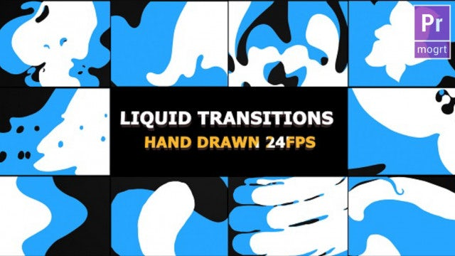 Flash FX Splash Transitions: Motion Graphics Templates