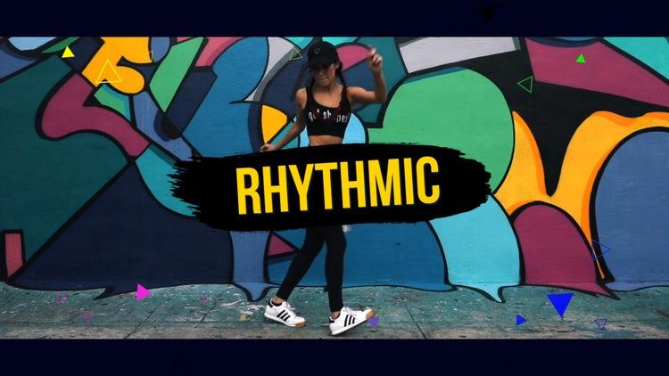 Stylish Rhythmic Dynamic Opener: Premiere Pro Templates
