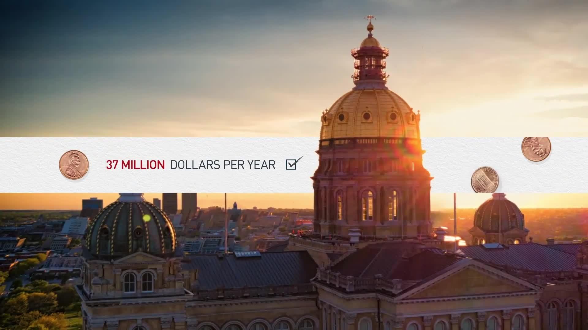 Penny Sales Tax| Des Moines