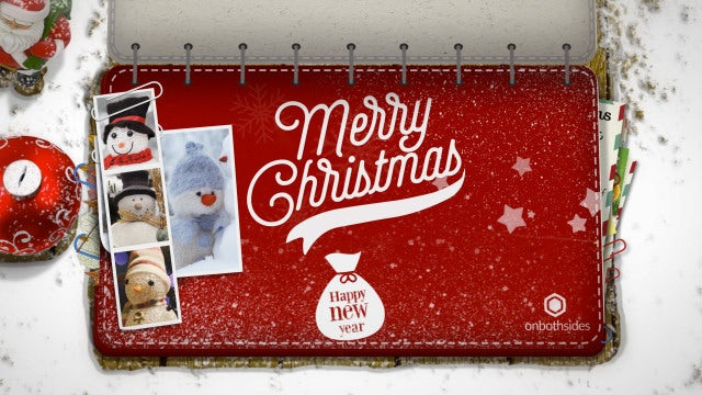 Christmas Booklet: After Effects Templates