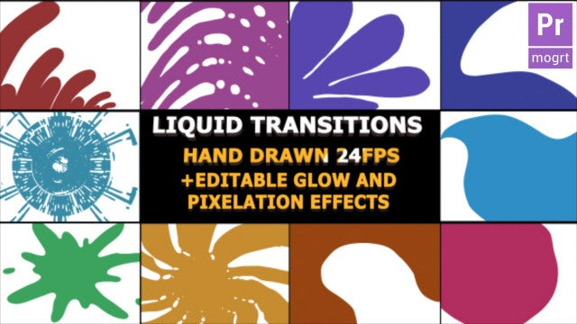 Hand Drawn Transitions: Motion Graphics Templates