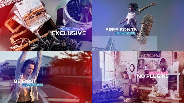 Dynamic Opener Slideshow. Intro Logo.: Premiere Pro Templates