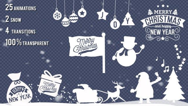 Christmas Animations Kit: Stock Motion Graphics