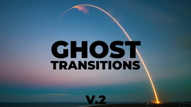 Ghost Transitions V.2: Premiere Pro Presets