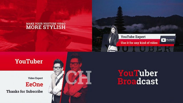 YouTube Channel - Youtuber Kit: After Effects Templates