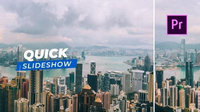 Quick Slideshow: Premiere Pro Templates