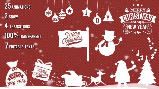 Christmas Kit: After Effects Templates
