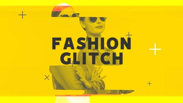 Fashion Glitch: Premiere Pro Templates