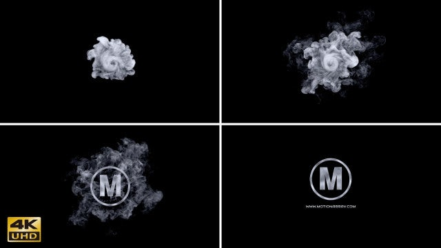 Smoke Vortex Logo: After Effects Templates