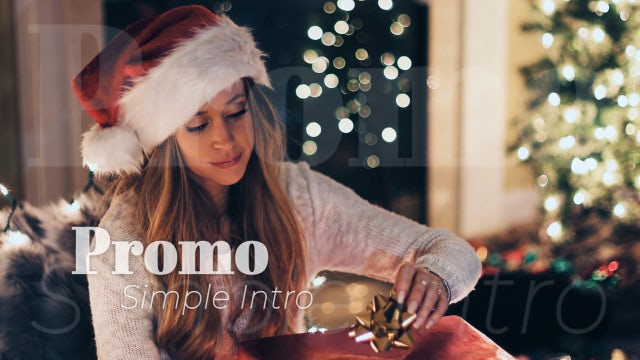 Simple Intro Promo: After Effects Templates