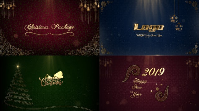 Christmas Package: After Effects Templates