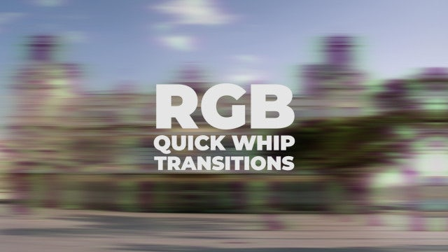 RGB Transitions: Premiere Pro Presets
