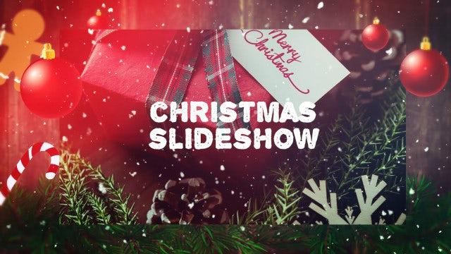 Christmas Holidays Slideshow: Premiere Pro Templates