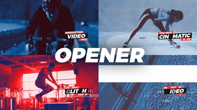 Dymamic Opener: Premiere Pro Templates