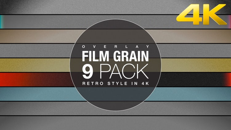 Film Grain 8mm 4K Collection: Stock Motion Graphics