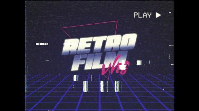 VHS Retro Trailer: Premiere Pro Templates