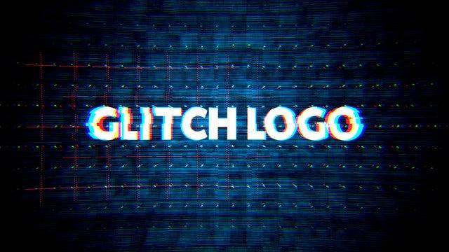 Glitch Title: Motion Graphics Templates