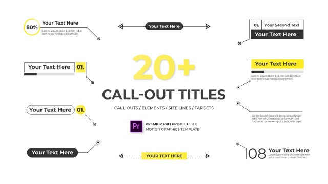 Call Out Titles - Essential Graphics: Motion Graphics Templates