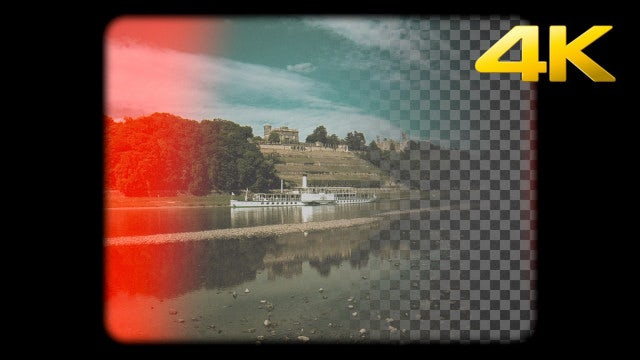 Super 8mm Burn Overlay: Stock Motion Graphics