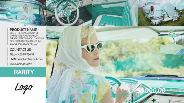 Cars & Cars Slideshow: After Effects Templates