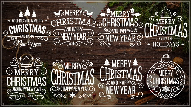 Merry Christmas 2K18: After Effects Templates