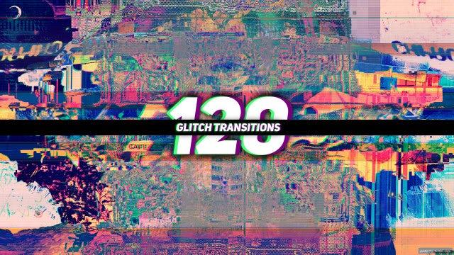 120 Glitch Transitions: Premiere Pro Presets