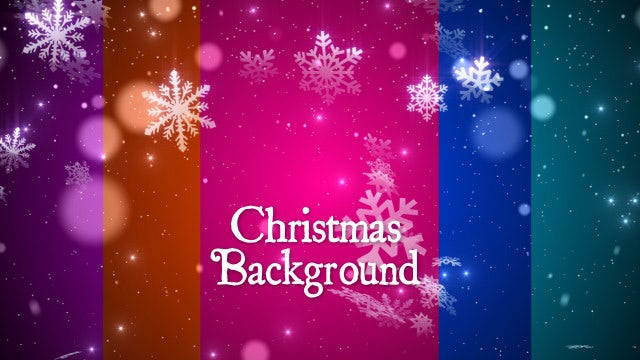 Pretty Christmas Snowfall Background Pack - Stock Motion Graphics ...