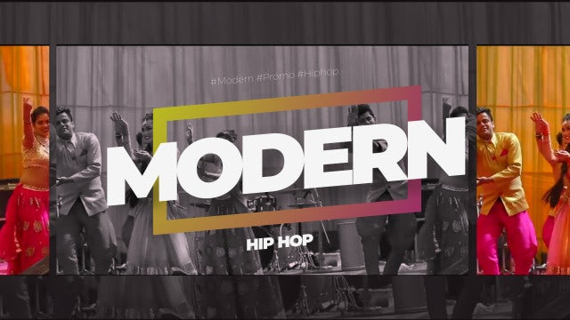 Modern Hip Hop: After Effects Templates