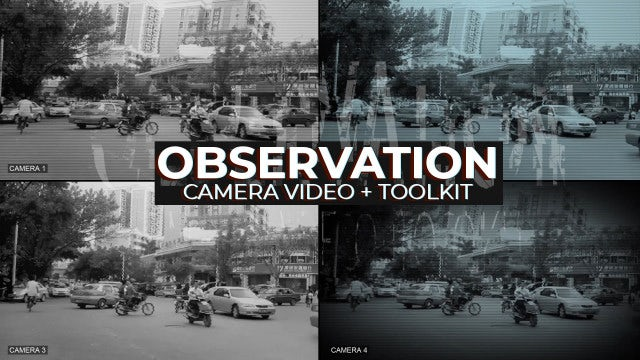 Video Observation - Hidden Camera: Premiere Pro Presets