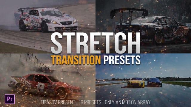 Stretch Transition Presets: Premiere Pro Presets