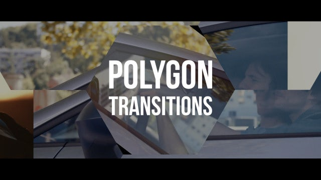 Fast Polygon Transitions: Premiere Pro Templates