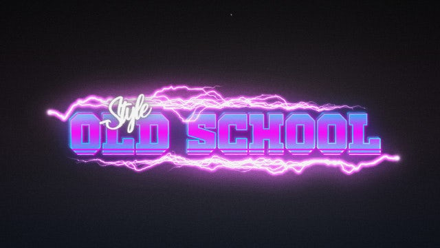 Retro Wave Title 3: Motion Graphics Templates
