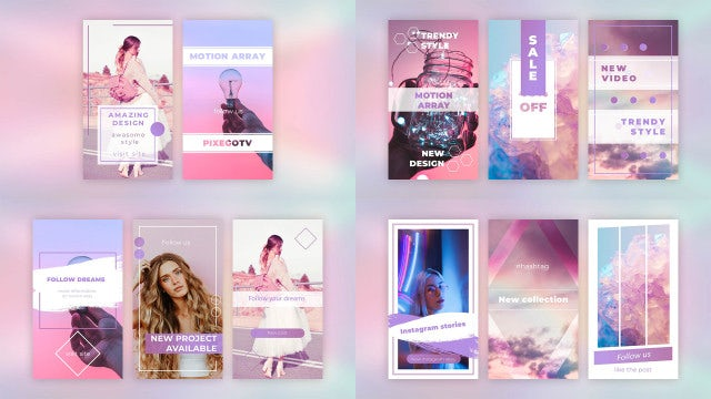Instagram Stories Pack V.1: After Effects Templates