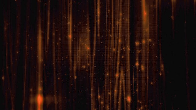 Gold Particular Curtain: Stock Motion Graphics