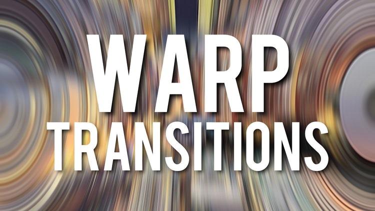 Warp Transitions: Premiere Pro Templates