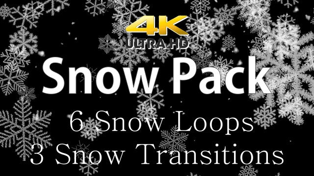 Snow Pack: Stock Motion Graphics