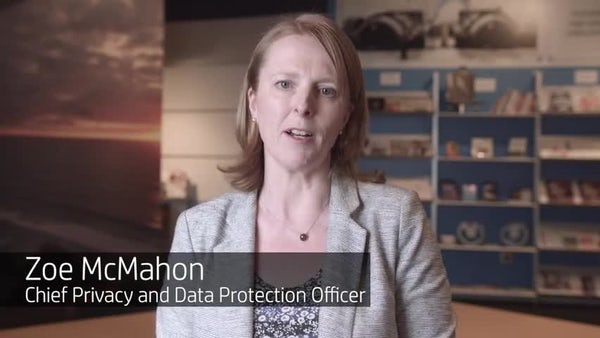 Zoe McMahon - HP's Chief Privacy Officer